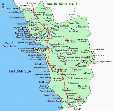 Goa Map1