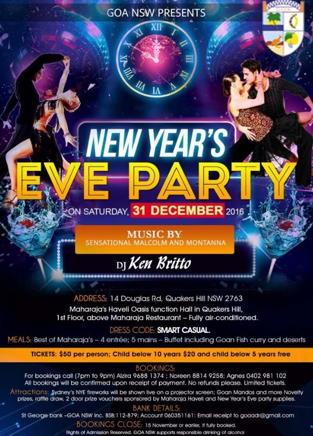 New Year's Eve Party @ Maharaja's Haveli Oasis Function Hall | Quakers Hill | New South Wales | Australia